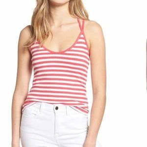 🌷3 for $15!🌷BP Striped Ribbed Strappy Tank